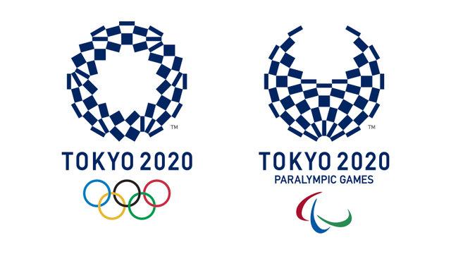 Das Logo für Tokio 2020
