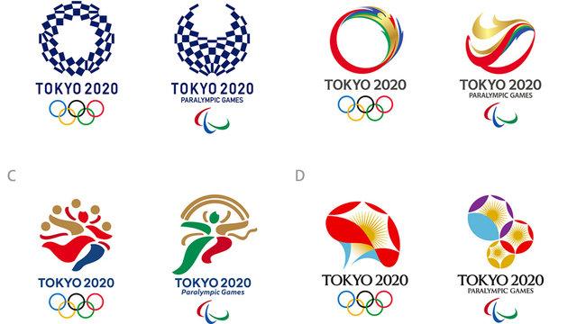 Die Logo-Finalisten für Tokio 2020