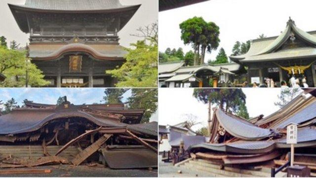 Vom Beben zerstörte Kulturgüter