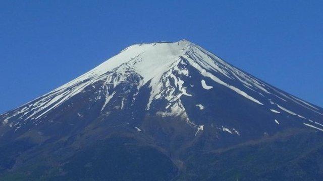 Das Fuji-Phänomen im Frühling