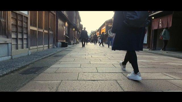 Besuch im Geisha-Viertel