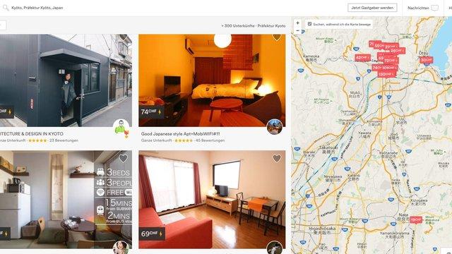 Kyoto gegen Airbnb