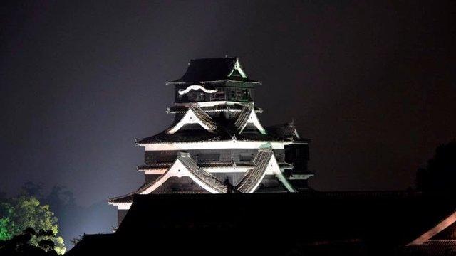 Lichtblick für die Kumamoto-Burg