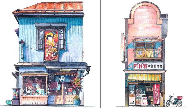 Tokio wie in einem Ghibli-Film