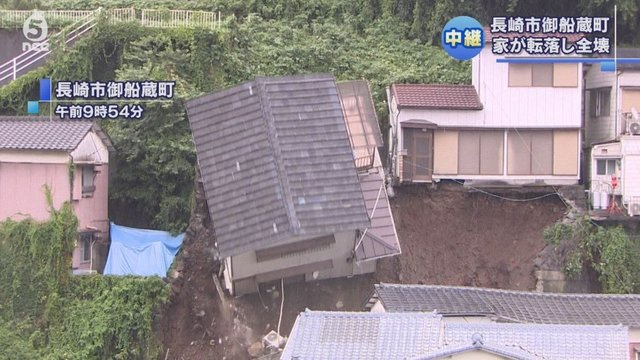 Nagasakis gefährliche Hänge