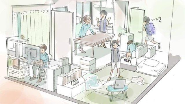 Die WG für Anime-Künstler