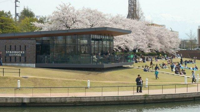 Japans Starbucks-Bauwerke