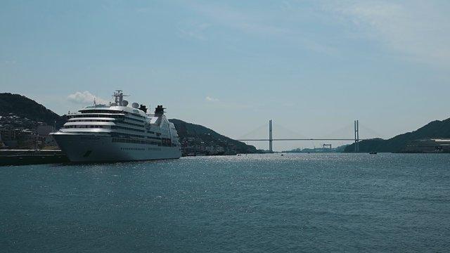 Mit dem Schiff nach Japan