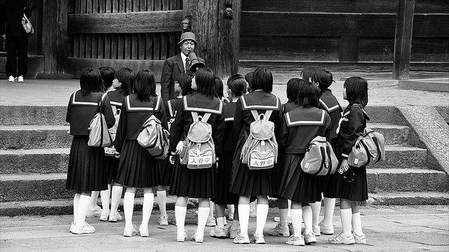 Kostspielige Schuluniformen