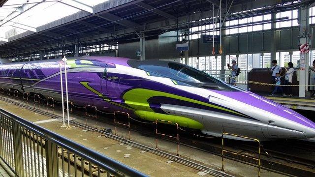 Kultobjekt Evangelion-Shinkansen