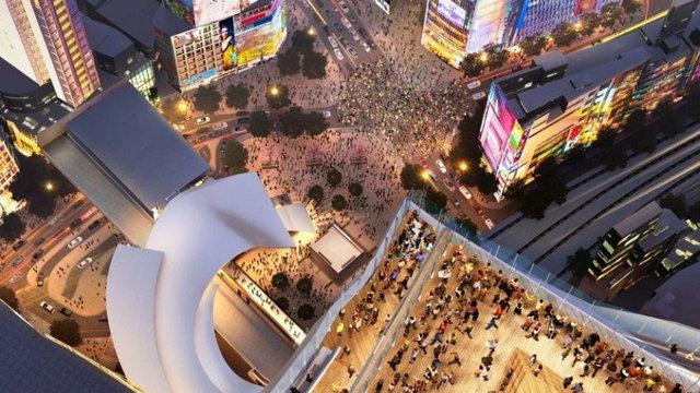 Die Verwandlung von Shibuya