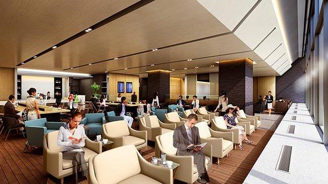 Eine Flughafen-Lounge für alle