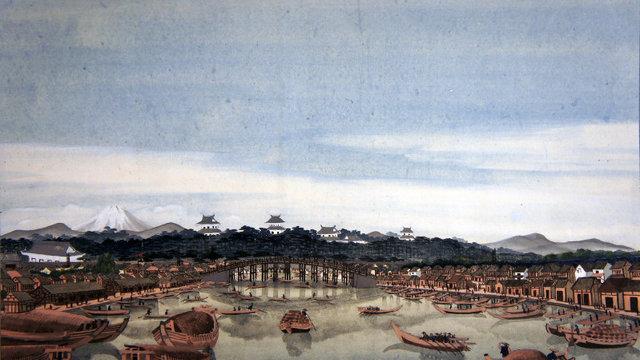 Hokusais westliche Malerei