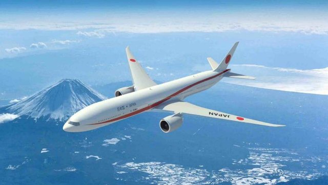 Japans neue Air Force One