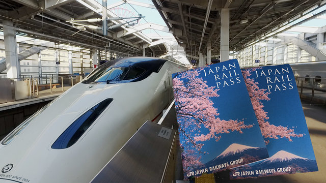In Japan den Rail Pass kaufen