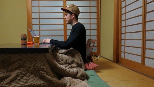 Wie sich Japan im Winter wärmt