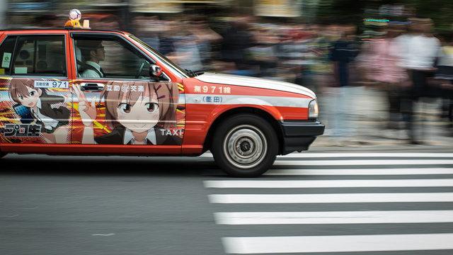 Günstig Taxi fahren in Tokio