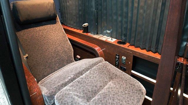 Fernbus mit Privatabteil