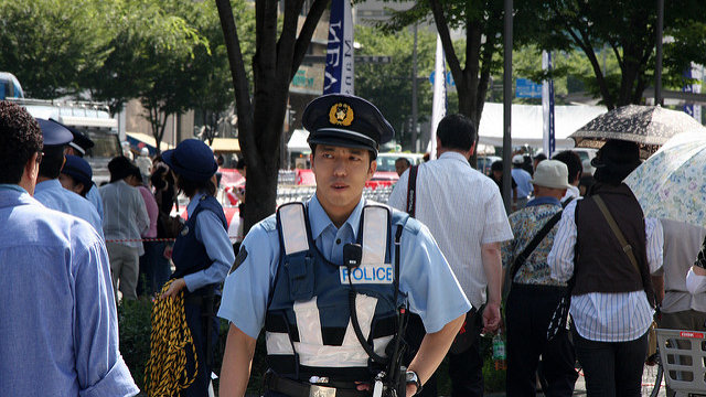 Japan, das sichere Land