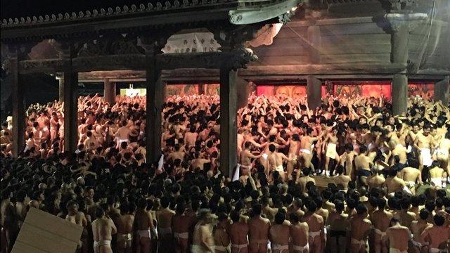 Das Fest der 10'000 Nackten