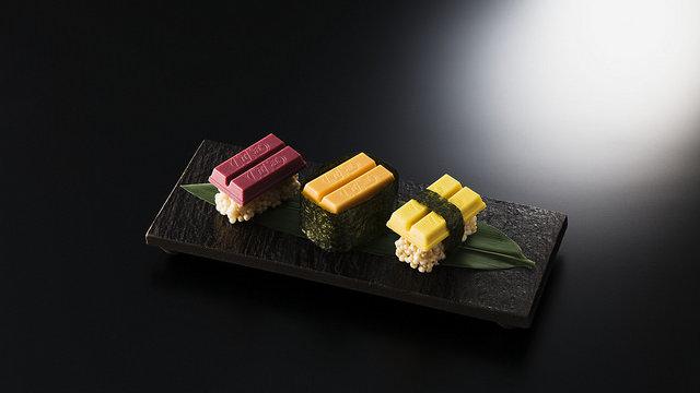 Kit Kat als Sushi