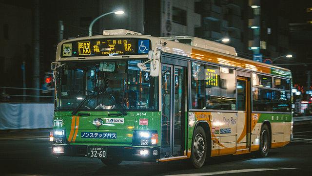 Tokios Bussystem verstehen