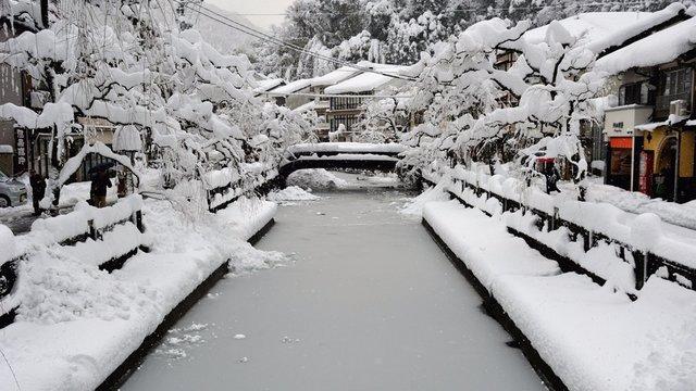 Wintermärchen Japan