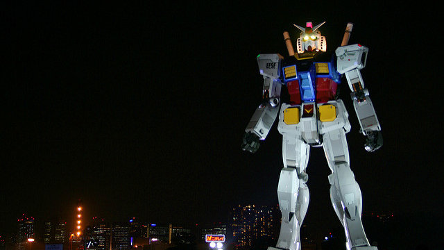 Abschied von Tokios Gundam