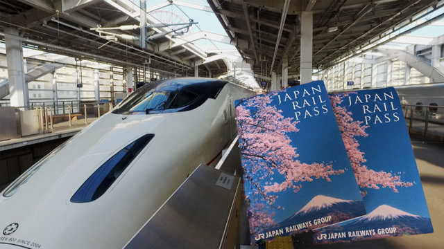Die Rail-Pass-Verkaufsorte in Japan