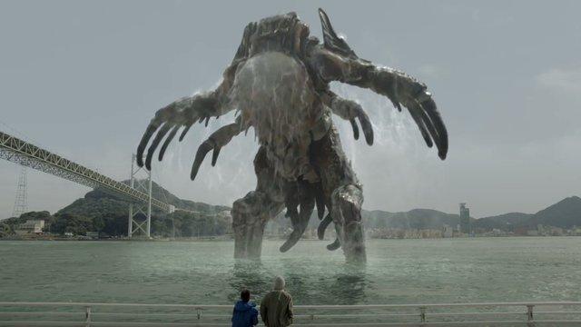 Ein Monster als Werbeträger