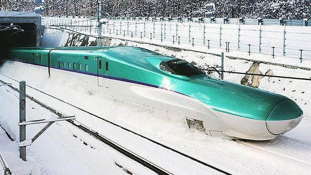 Viel Platz im Hokkaido-Shinkansen