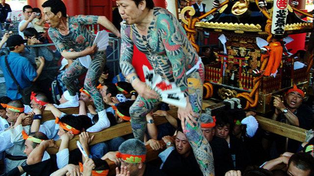 Japans überalterte Mafia