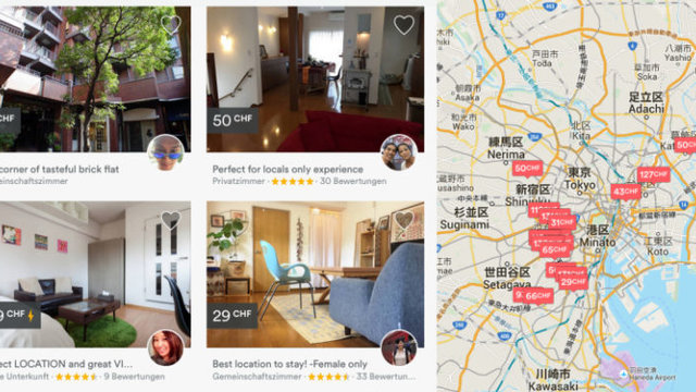 Airbnb ist nun legal in Japan