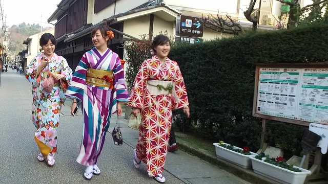 Das Comeback des Kimonos