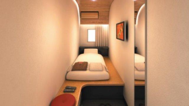 Das minimalistische Hotel