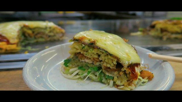 Im Okonomiyaki-Paradies