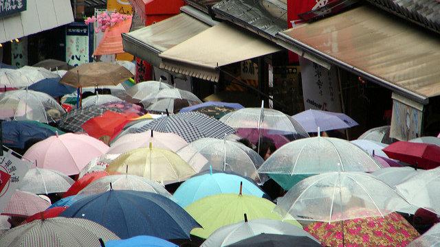 Japans Regenzeit