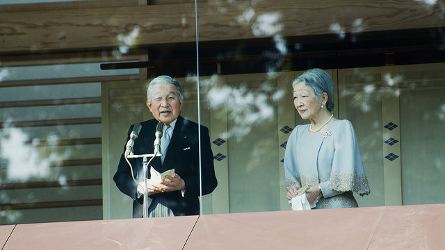 Kyoto will den Kaiser zurück
