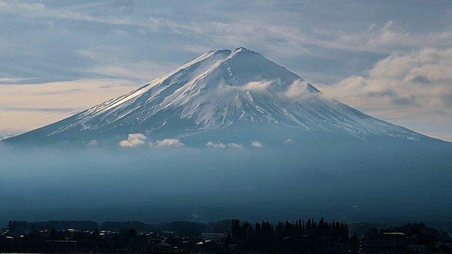 Der Fuji ist eröffnet