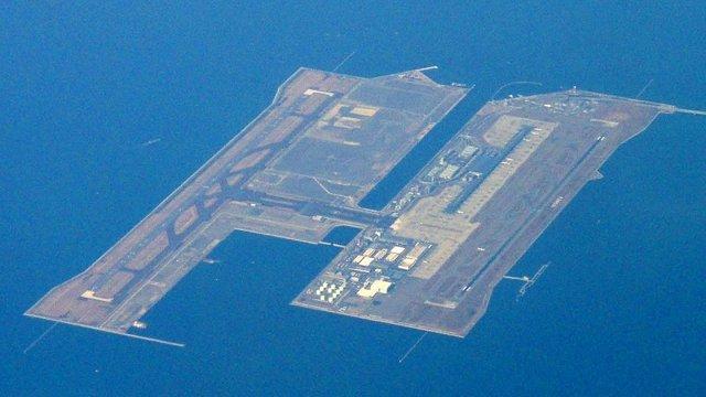 Japans riesige Flughafen-Inseln