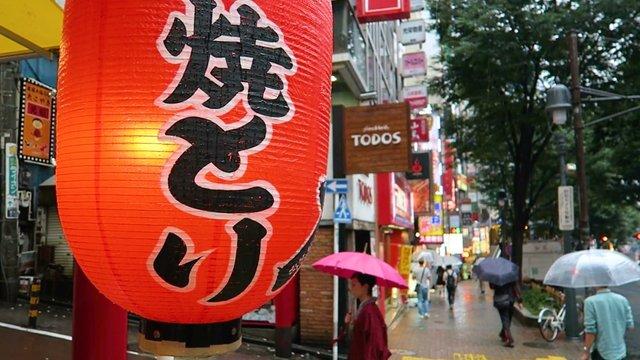21 Tage Regen in Tokio