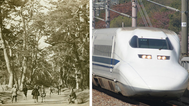 Tokio - Osaka: 1700, 1889 & 2017