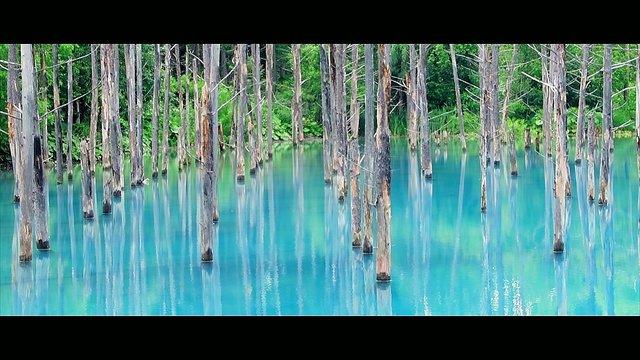 Der Blaue Teich von Biei