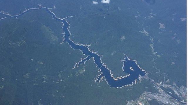 Der Drachen-Fluss in Japan