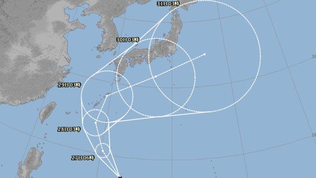 Japans stürmischer Herbst