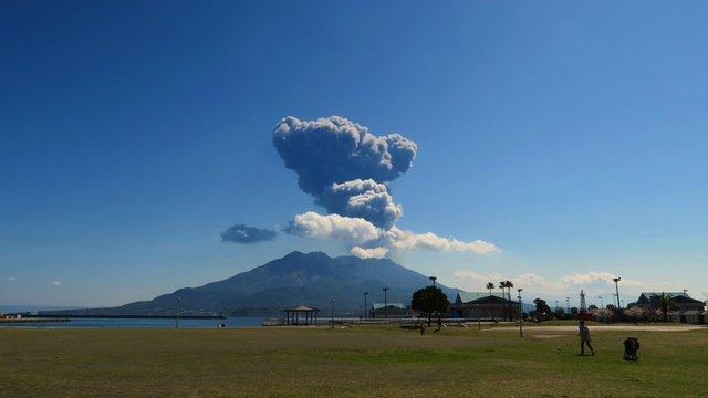 Japans Vulkan-Warnsystem