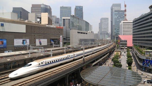 Online-Reservation für den Shinkansen