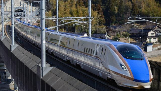 Gratis-Wifi im Shinkansen