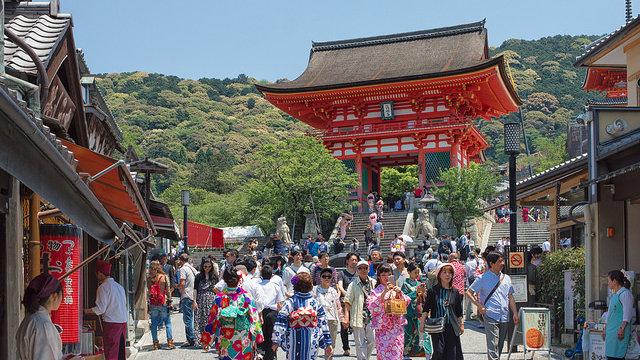 Kyoto platzt aus allen Nähten