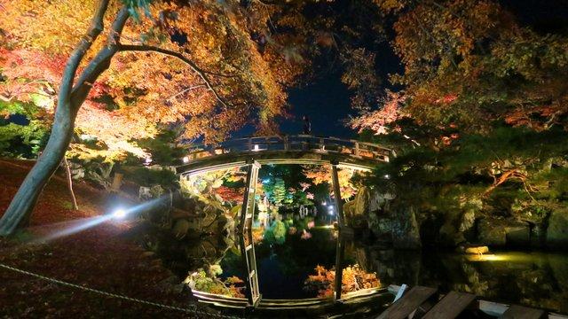 Magische Herbstnächte in Hikone